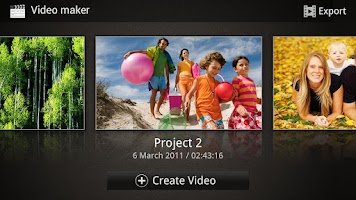 Screenshot of Video Editor