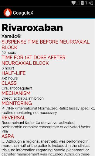 CoaguleX - screenshot