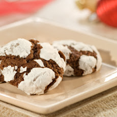 Fudgy Crinkle Cookies