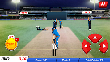 Screenshot of Power Cricket T20 World Cup