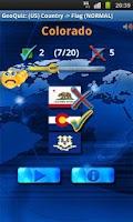 Screenshot of Geo Quiz