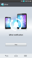 Screenshot of QPair for Verizon Wireless