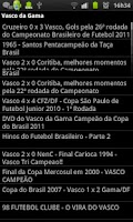 Screenshot of Noticias do Vasco da Gama
