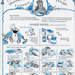 Cookie Monster's Famous Sugar Cookie Dough