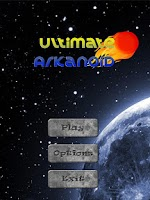 Screenshot of Ultimate Arkanoid Lite