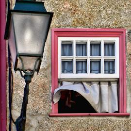 Breeze of love by Antonio Amen - Buildings & Architecture Architectural Detail ( love, arquitectura, chandelier, breeze, window )
