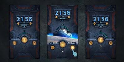 Screenshot of Machinery GO Locker Theme