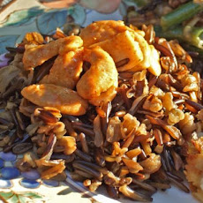 Wild Rice With Spicy Pecans