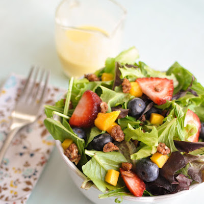 Mango Berry Salad