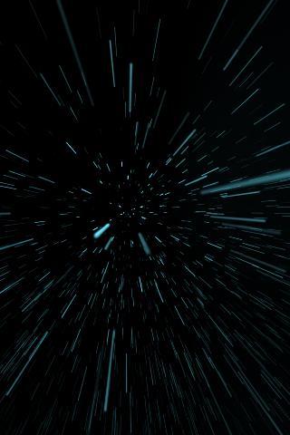 Starfield Warp Live Wallpaper