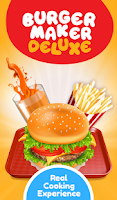 Screenshot of Burger Deluxe - Cooking Games