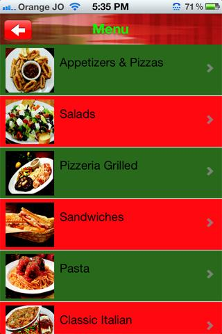 【免費商業App】The Pizzeria Amman Jordan-APP點子