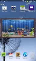 Screenshot of mini Fish Tank