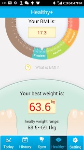 Smart Bracelet Health+ APK for Bluestacks