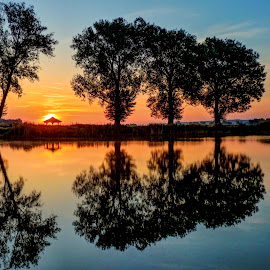 Sunrise on the magical lake.. by Željko Salai - Instagram & Mobile Other