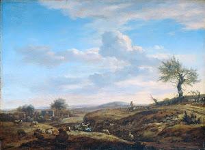 RIJKS: Adriaen van de Velde: painting 1672