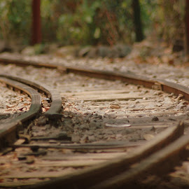 by Dinesh Bhawsar - Transportation Railway Tracks
