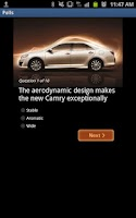 Screenshot of Toyota Camry – ALJ