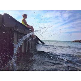 Lake Erie  by Vitaliy  Koblyuk  - Instagram & Mobile iPhone