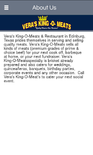 Vera's King O Meats - screenshot