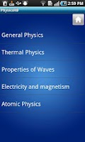 Screenshot of Physics Handbook