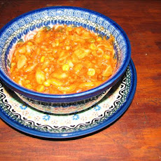 Macaroni & Hamburger One Dish Crock Pot  Casserole