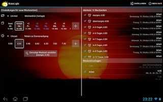 Screenshot of Personal Sunrise (Plugin)