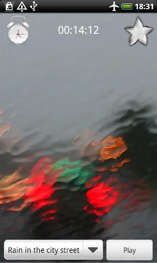 Rain Sounds Relax & Sleep - screenshot