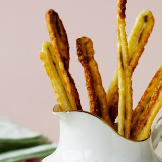 Parmesan And Anchovy Straws
