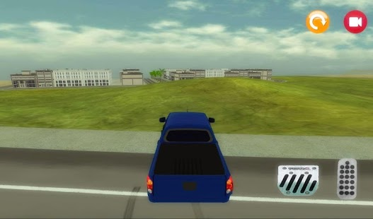 3D Pickup Driving Game - screenshot