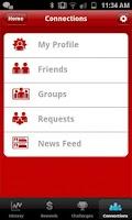 Screenshot of Virgin HealthMiles Dash