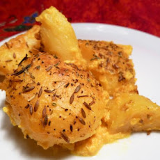 Golden Potatoes Au Gratin