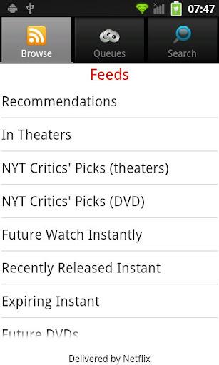 NetQ - A Netflix Queue Manager