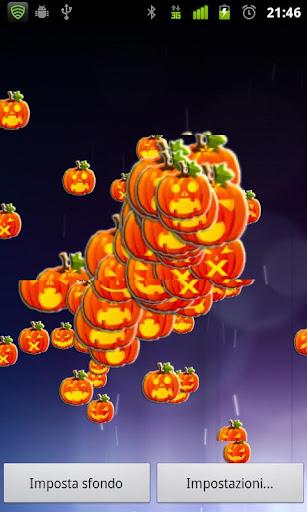 Pumpkins Halloween LWP