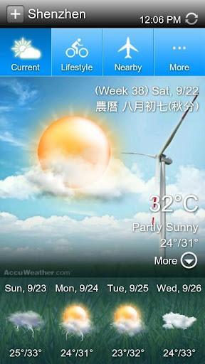 百資天氣預報