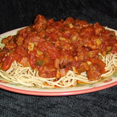 Bek's Spiced up Spaghetti Sauce