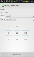 Screenshot of Colectivos Río Cuarto