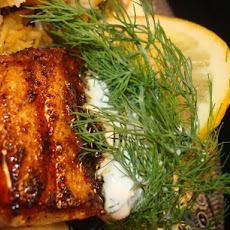Grilled Blackened Sea Bass