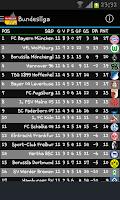 Screenshot of Football Bundesliga 2014-2015