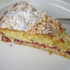 Cranberry Vanilla Coffeecake (adapted from the December issue of Gourmet)
