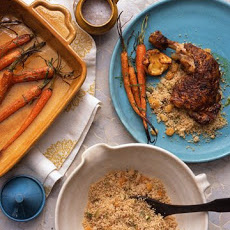 Olive, Apricot, and Pistachio Couscous