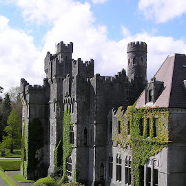 Ashford Castle by Donna Sepe - Buildings & Architecture Other Exteriors ( building, ireland, castle, architecture, ashford castle,  )