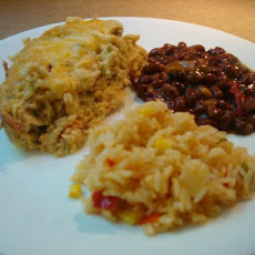 Lower Fat Chiles (Chiles) Rellenos Casserole