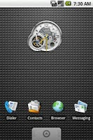 Screenshot of Tourbillon Clock Widget 2x2