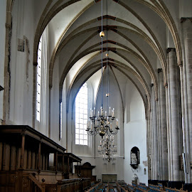 Interior St. Joris Church 2 by Anita Berghoef - Buildings & Architecture Places of Worship ( interior, amersfoort, church, house of worship, st. joris church, architecture )