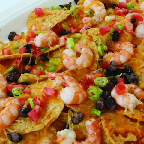 Quick-and-Easy Cheesy Gulf Shrimp Nachos