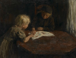 RIJKS: Jacob Simon Hendrik Kever: painting 1910