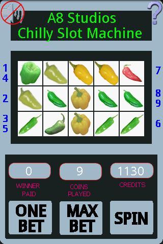 a8 chili slot machine lite