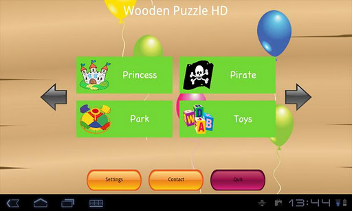 Wooden Puzzle HD for Tab