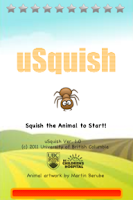 Screenshot of uSquish